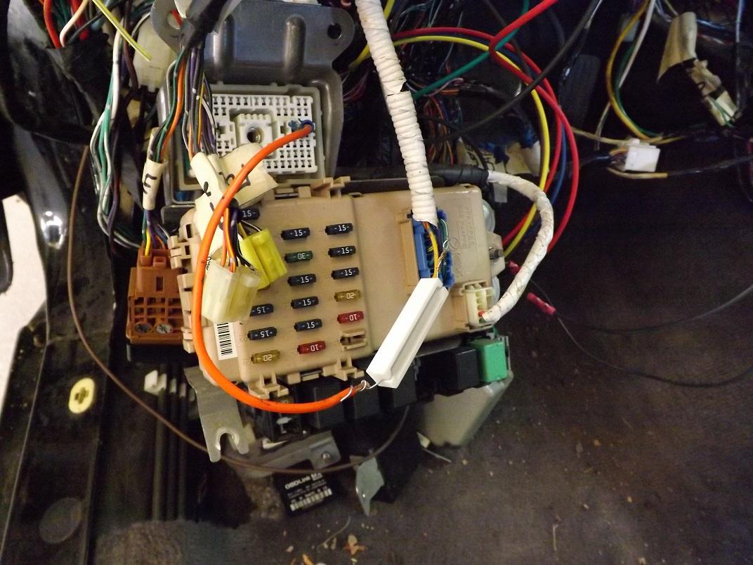 2002 Ez30 H6 Into 1999 Outback Swap Subaru Transplants Ultimate B17 Wiring Harness Dscf0603s2